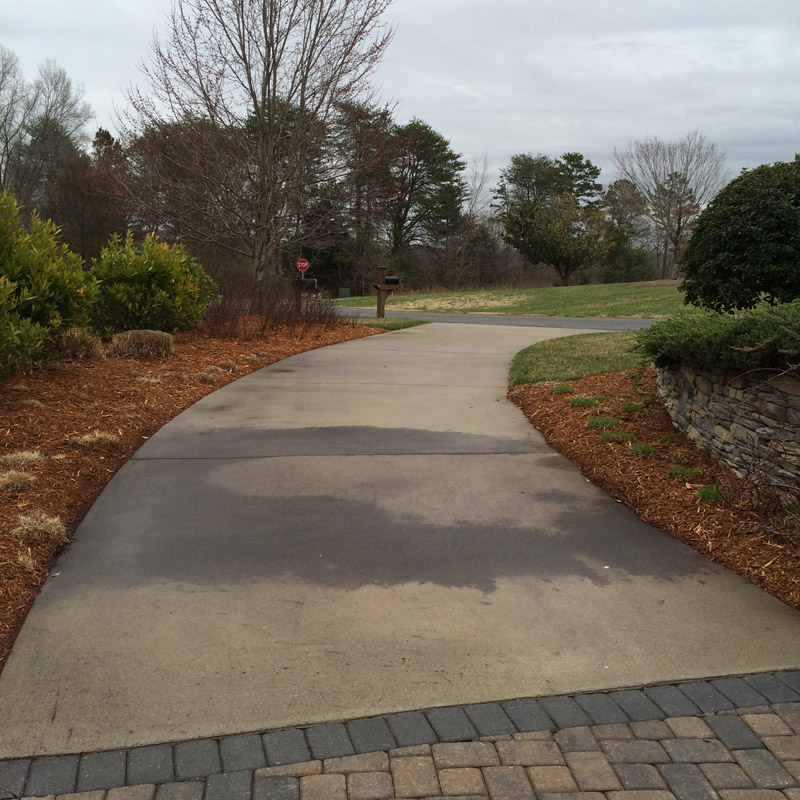 concrete-driveway-cleaning-before